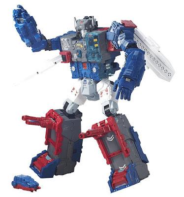 TOYS : JUGUETES- TRANSFORMERS Generations  Robot Fortress Maximus : Emissary & Cerebros  Titans Return : Clase Titan | Muñeco - Figura  Producto Oficial 2016 | Hasbro B6118 | Edad: +8 años  Comprar en Amazon España & buy Amazon USA