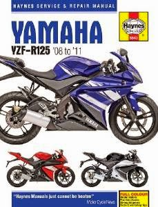 Yamaha YZF R125 Workshop Service Manual Free Download