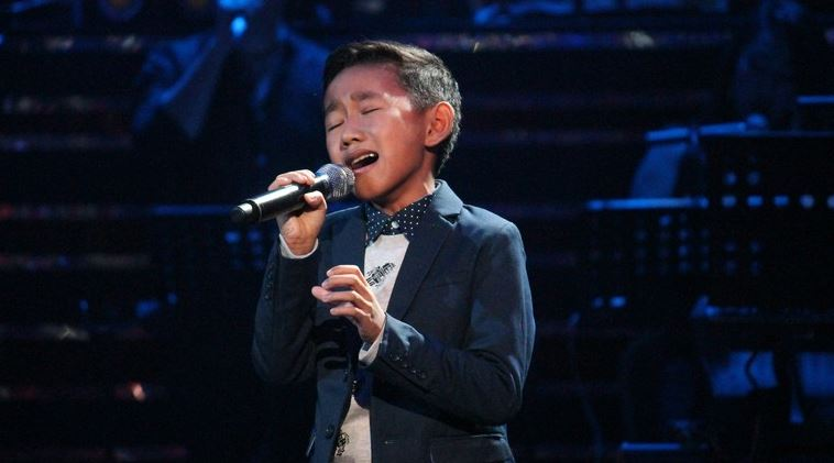 Joshua Oliveros The Voice Kids grand winner