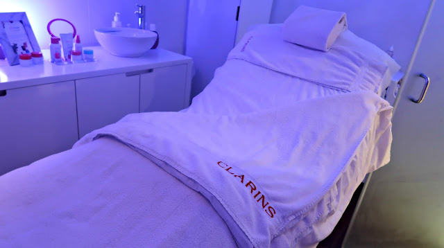Danielle Levy, Clarins, Clarins skin spa, Clarins liverpool, Liverpool blogger, Wirral blogger, beauty blogger, My Clarins, vegan skincare, facial,