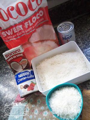 Recheio Prestígio: use ingredientes de qualidade!