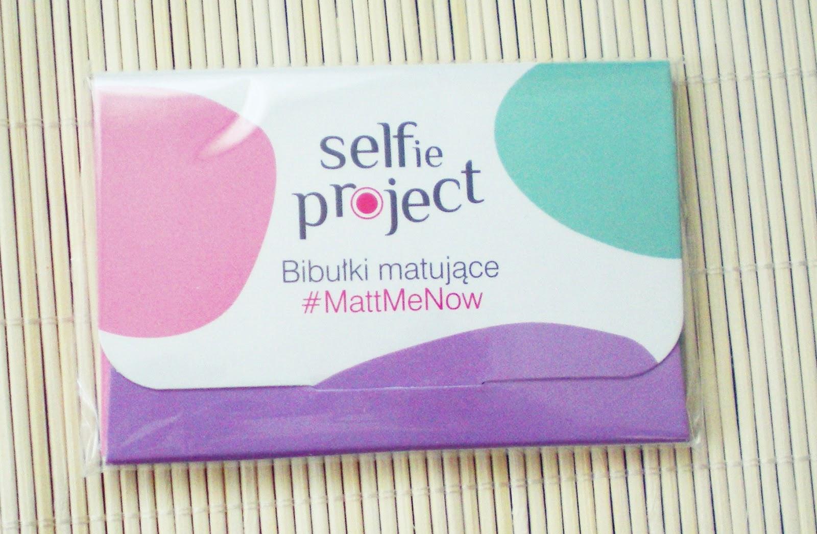 Selfie Project_Bibułki matujące