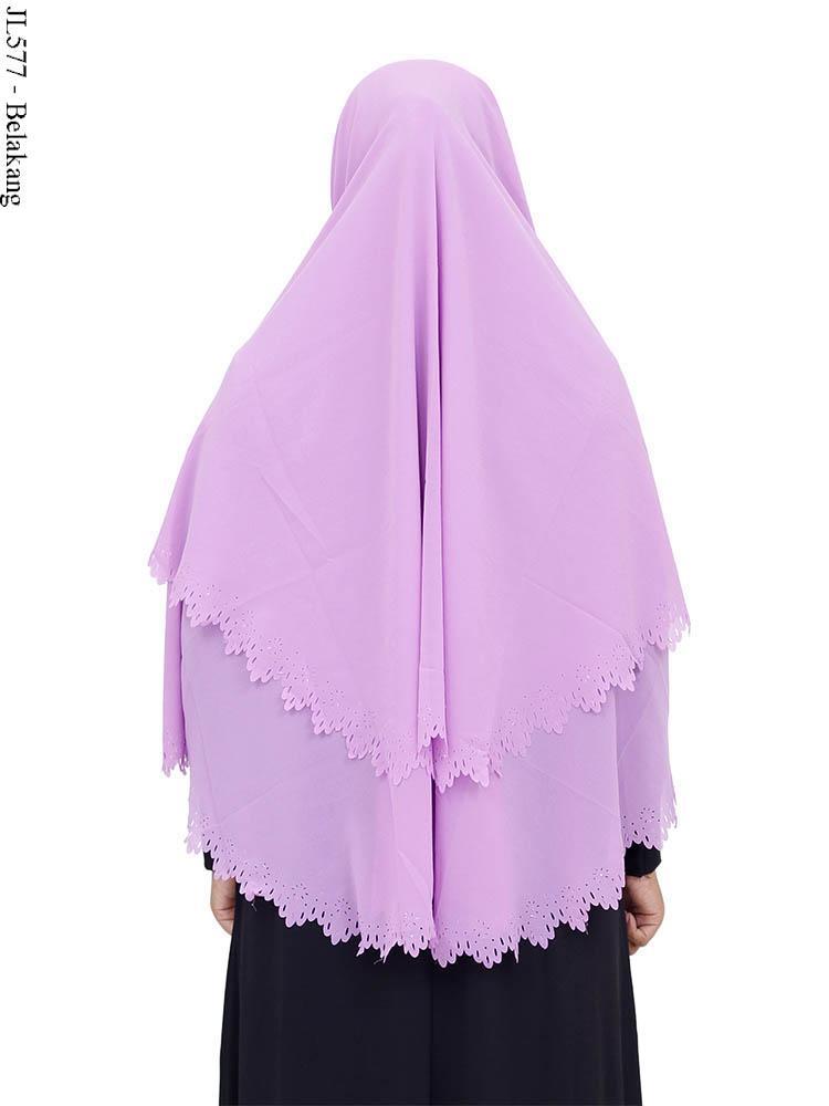Baju Gamis Jilbab Ceruti Hijab Nemo