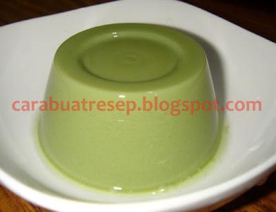 Foto Resep Puding Susu Green Tea Teh Hijau Sederhana Spesial Asli Enak