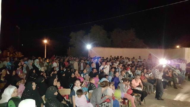 افتتاح مهرجان المسرح الأول بتازارين