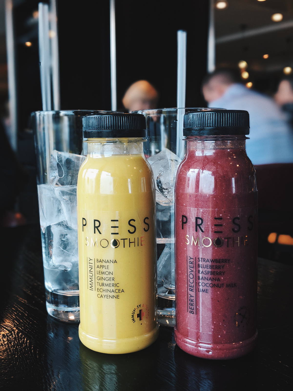 Fresh press smoothies from Sea Containers