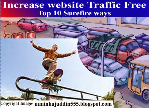 how to incrrease blog traffic free