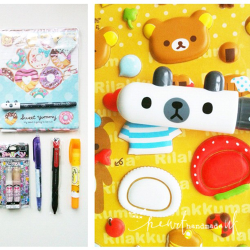 Stationery+from+coolpencilcase DIY Mini Notebook From Kitsch Writing Paper | Cool Pencilcase Stationery