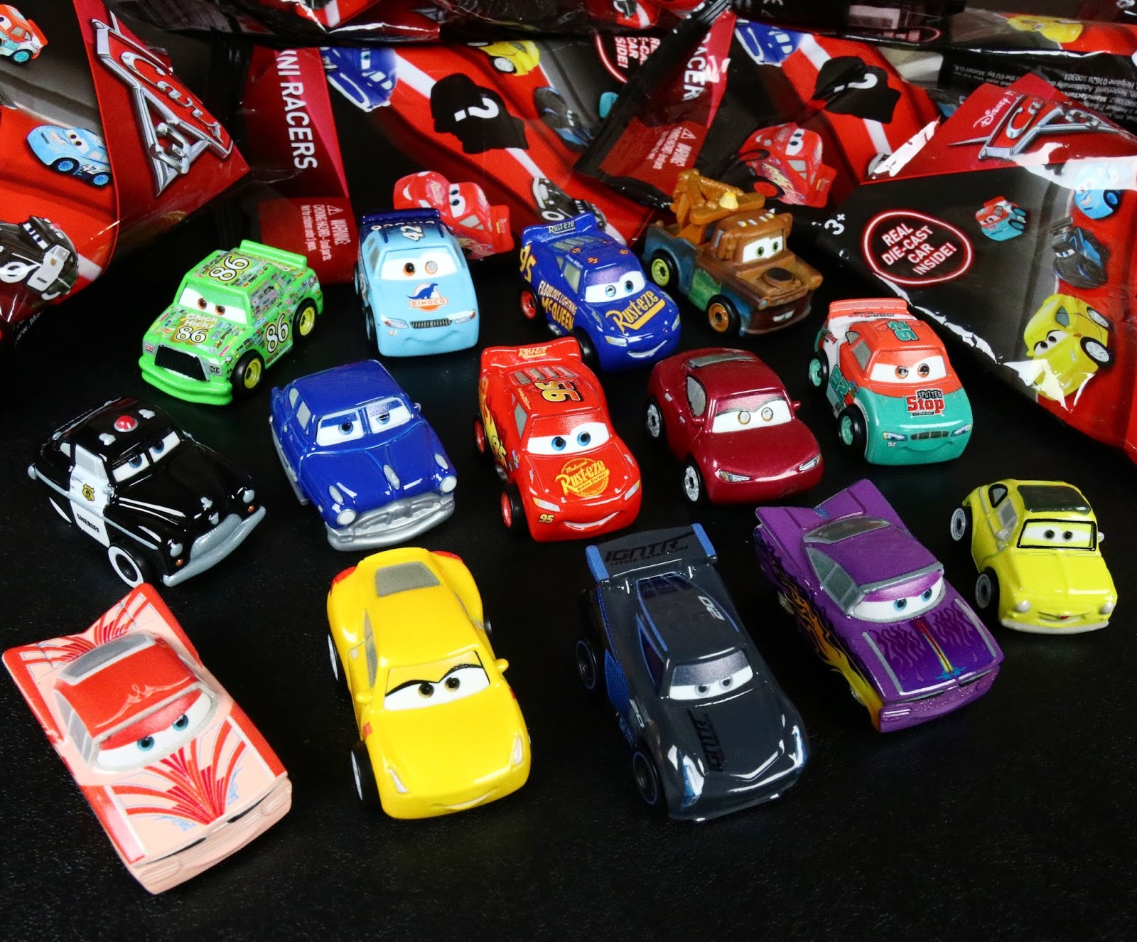 cars 3 mattel mini racers blind bags guide