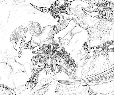 Diablo 3 Barbarian Fight Yumiko Fujiwara