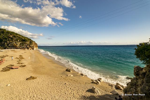 Playa de Gjipe, vista general - Himara, Albania por El Guisante Verde Project
