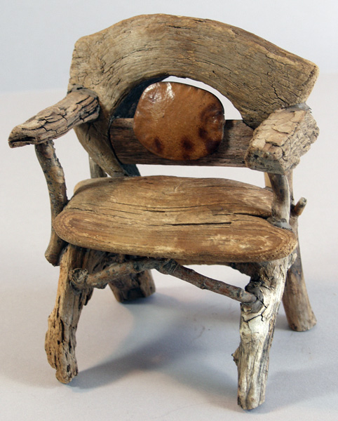 Miniature Rustic Twig Furniture By George C Clark May 2011