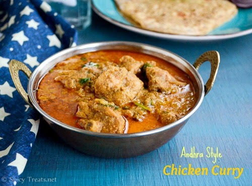 Andhra Chicken Curry Recipe