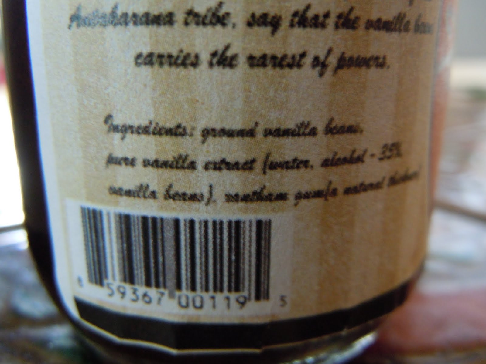 Paloma Mexican Haute Cuisine: INGREDIENTS: VANILLA AND VINDICATION