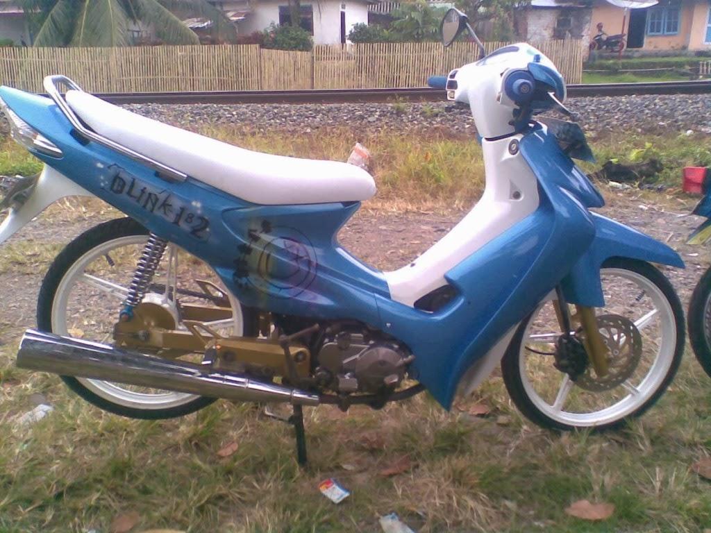 Foto Motor Drag Legenda Modifikasi Sepeda Motor