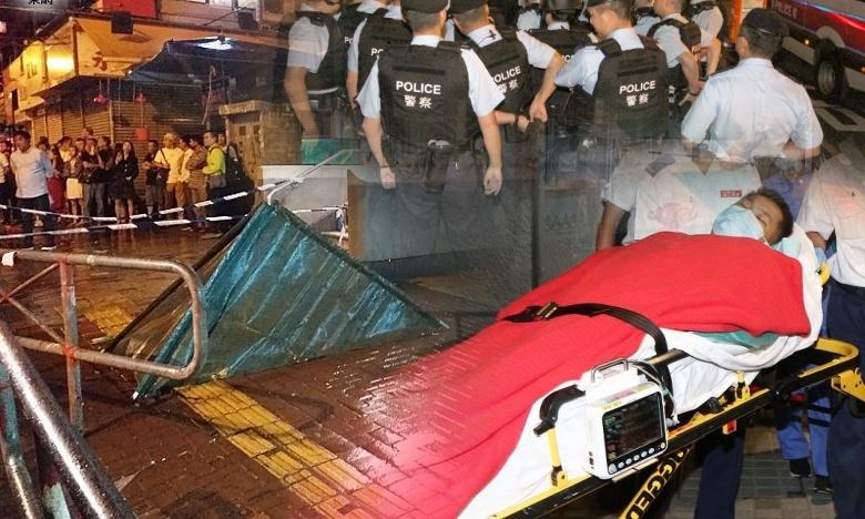 Polisi Hong Kong Tengah Memburu Pelaku Penembakan di Sham Shui Po