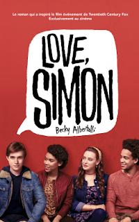 Vie quotidienne de FLaure : Love, Simon - Becky ALBERTALLI