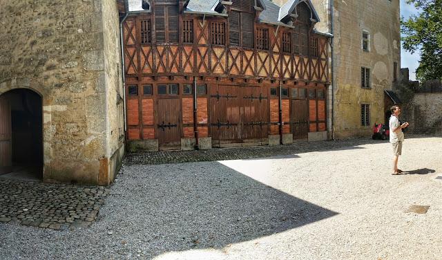 Chateau de Chanzey-sur-Ain by Perouges France
