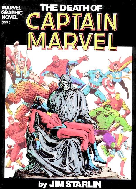 captain marvel death