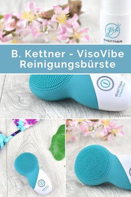 Review zur VisoVibe Reinigungsbürste von B.Kettner inkl. Gewinnspiel