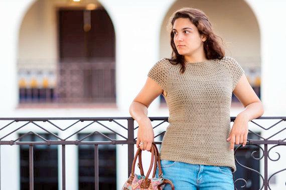 tshirt Crochet pattern