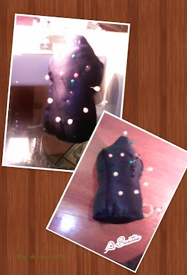 Tutorial  Acerico con forma de maniquí de Costura