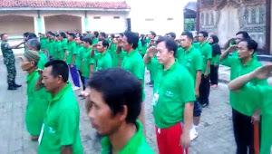 Bentuk Generasi Militansi Berjiwa Nasionalisme, Ini yang dilakukan TNI Tanjung Brebes