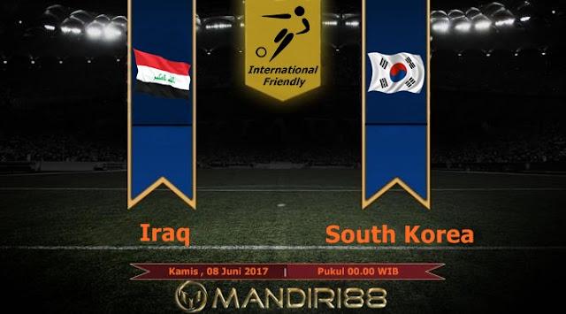 Prediksi Bola : Iraq ( N ) Vs South Korea , Rabu 07 Juni 2017 Pukul 00.00 WIB