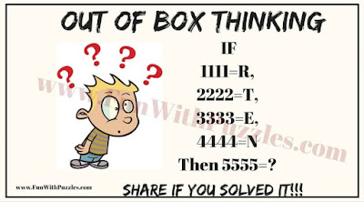 Out of Box Thinking Brain Teaser