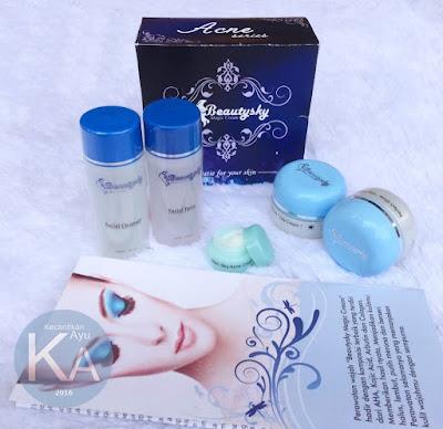 Cream Pemutih Wajah Terbaik Beauty Sky Magic Original