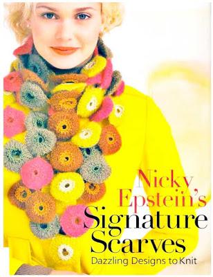 patrones crochet, bufanda yo-yos, gráfico ganchillo