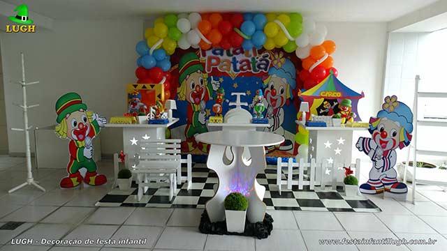 Decoração Patatí Patatá para festa de aniversário infantil