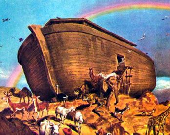 ilustrasi kapal nabi nuh