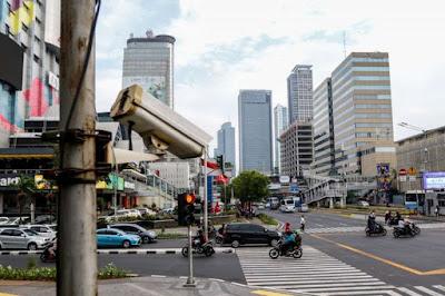 CCTV untuk persiapan tilang elektonik mulai dipasang minggu depan.