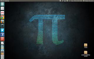 Meu desktop em julho de 2014