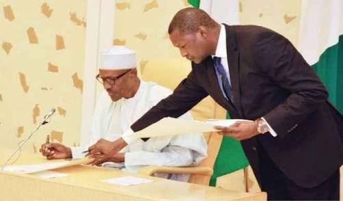 Buhari's Attorney General Orders CBN Fines Paid Into Suspicious Account?