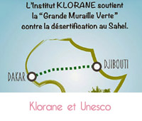 klorane s'engage avec Unesco