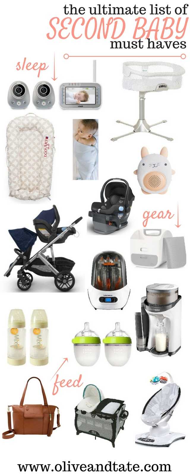 Ultimate List of second baby must have
