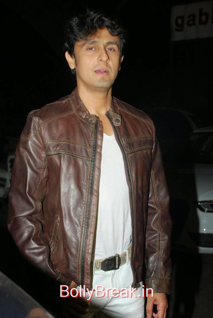 Sonu Nigam, Richa Chadda's Birthday Party Hot Images