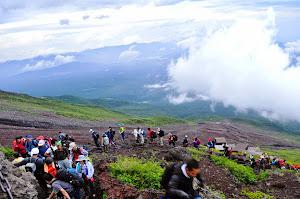 Mendaki Gunung Fujiyama