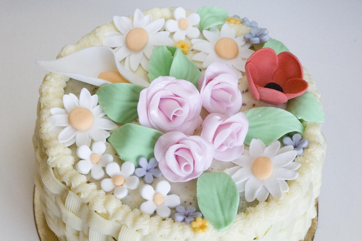 Tarta cesta de flores d6d9f4c80f38f