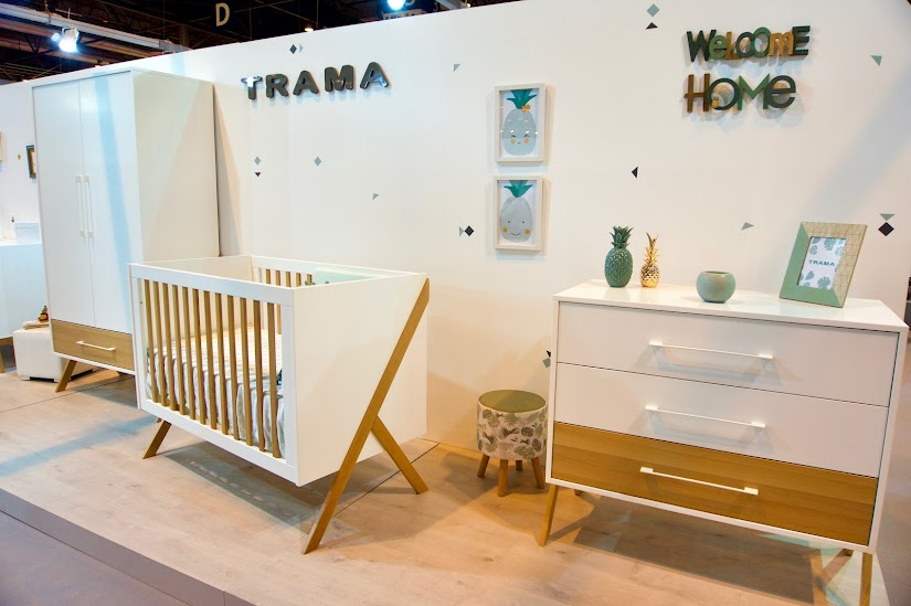 Habitación con diseño estilo escandinavo de Trama