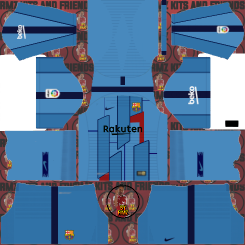 Fts Tato: Barcelona kits 2019/20 FTS 15 Dls