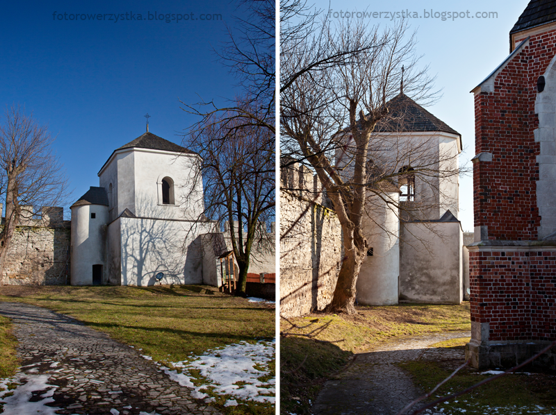 Szydłów, kościół św.Władysława, dzwonnica, świętokrzyskie