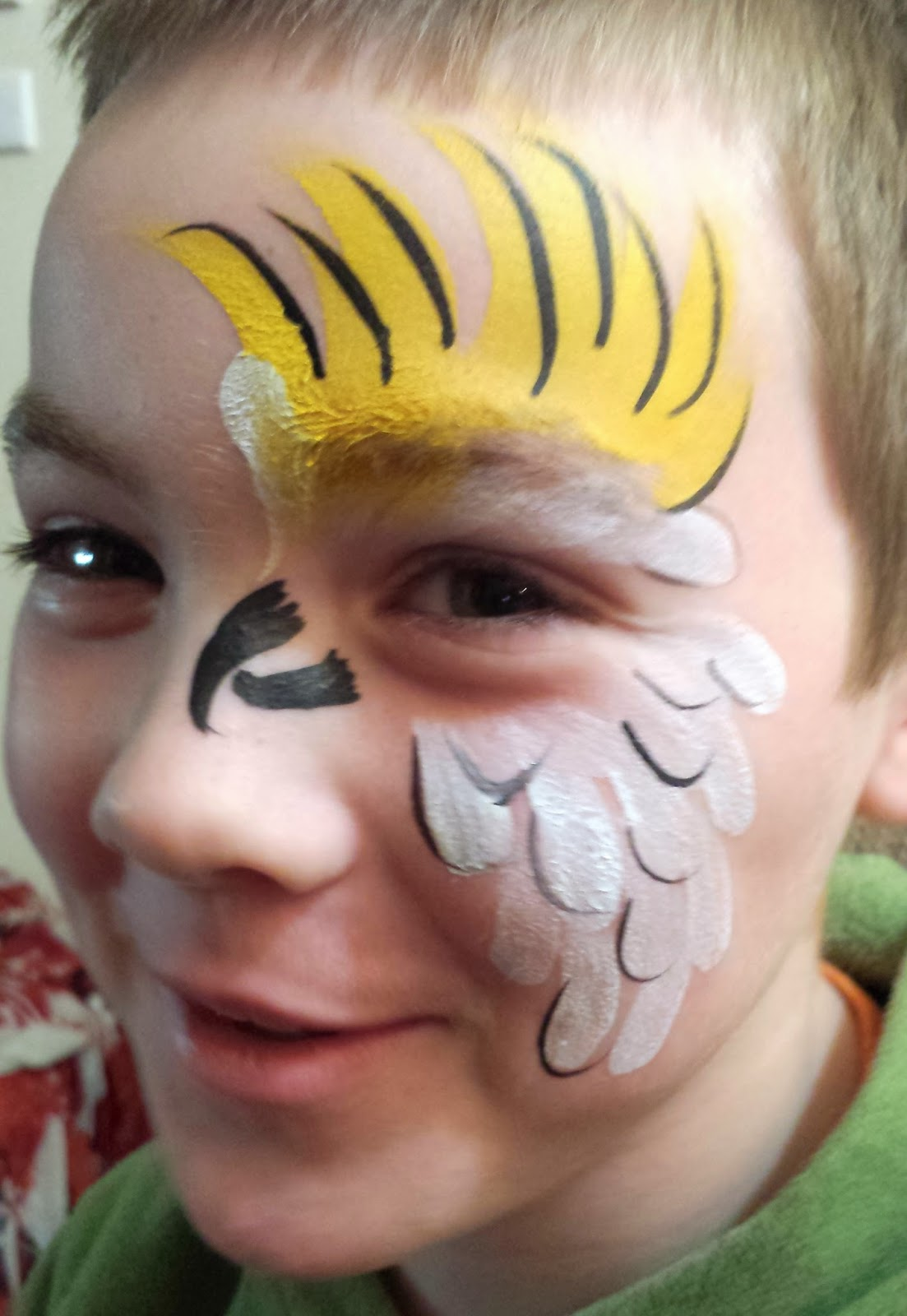 aussie animals on parade at woolworths gungahlin face painting by