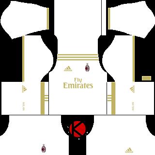 kit dream league soccer ac milan 2017 kits logo dream
