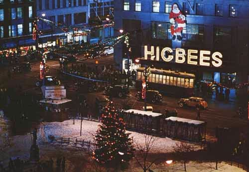Higbee's downtown Cleveland for 'A Christmas Story'