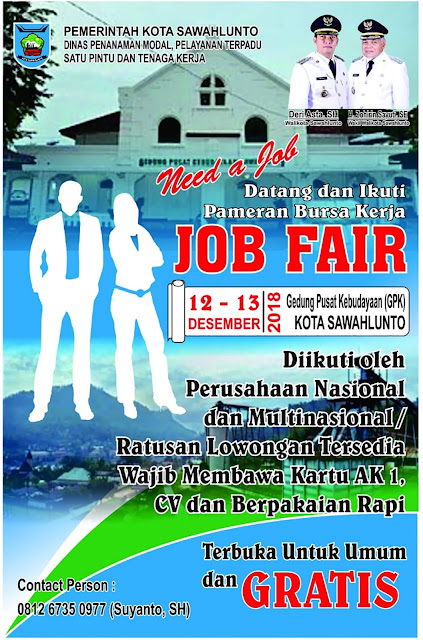 Job Fair Kota Sawahlunto