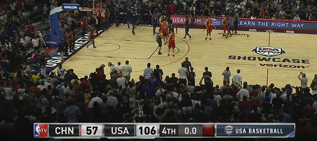 USA vs. China - Exhibition Game Full Highlights (VIDEO) July 24