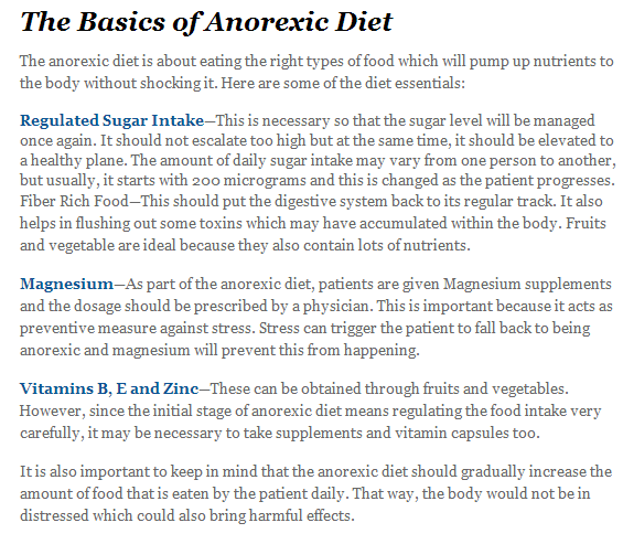 Pro anorexia how to lose weight | Lose Weight